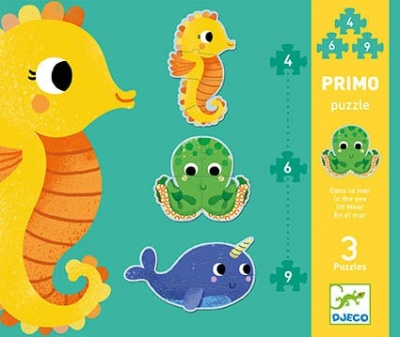 Djeco Primo Puzzle - In the Sea DJ07144